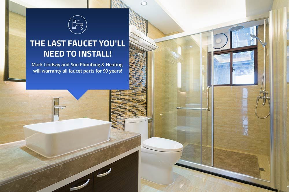 new bathroom faucet installation
