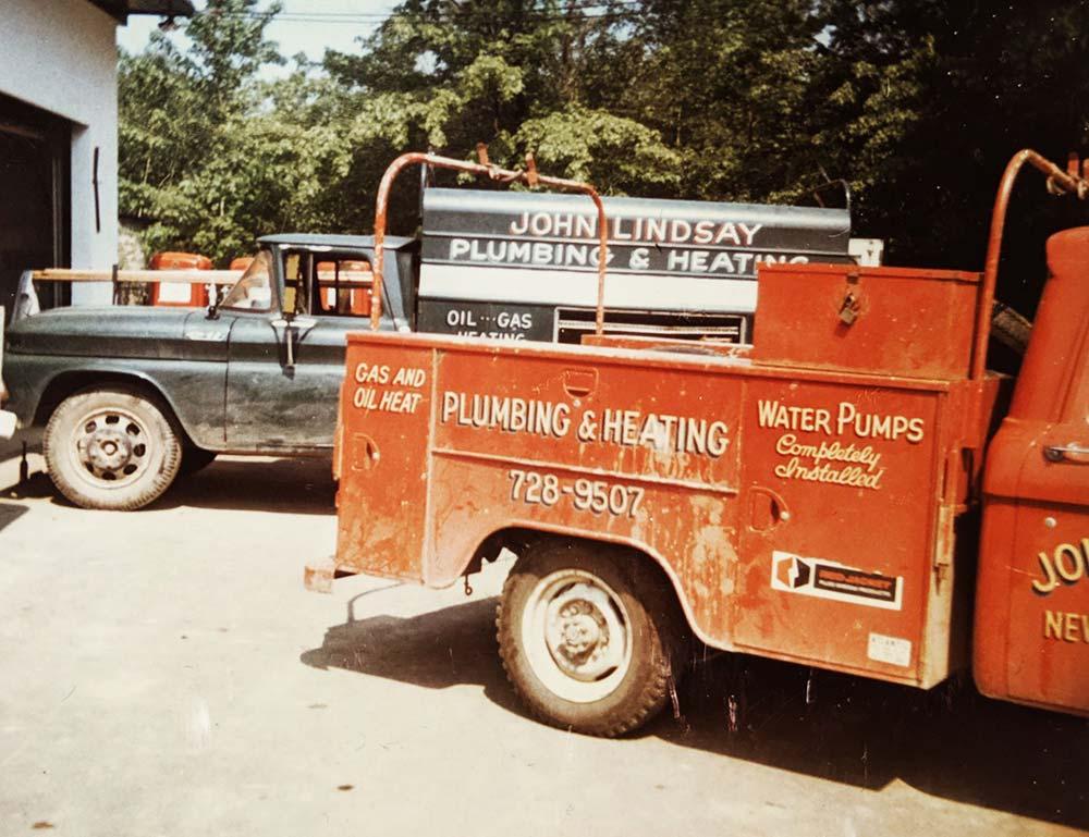 Original Mark Lindsay Trucks from 1962